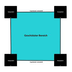 grafik: schwarze teslaplatten im verbund