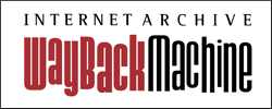 logo: wayback machine
