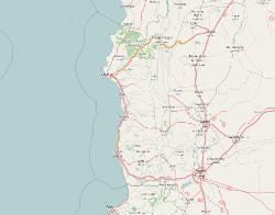 karte: syrische küstenregion
