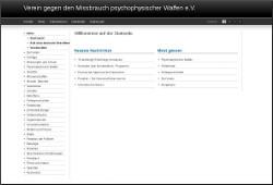 screenshot: webseite des vgmpw