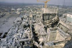 foto: unglücksreaktor im kkw tschernobyl